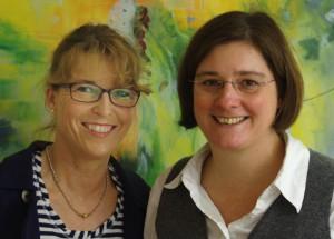Andrea Niebel und Ruth Vogel, Foto: Noch zu klären