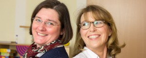 Ruth Vogel und Andrea Niebel. Foto: Mary Cronos